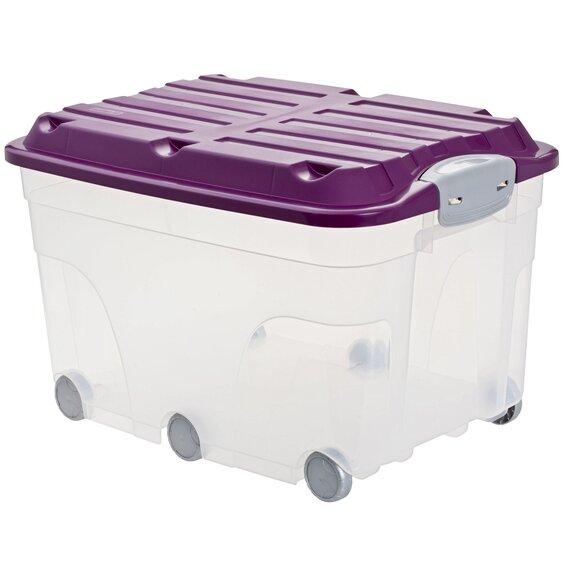 rotho universalbox roller 6 lila 57 l im obi online shop. Black Bedroom Furniture Sets. Home Design Ideas