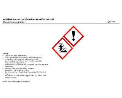 Compo Rasenunkraut Vernichter Banvel Quattro Af 1000 Ml Kaufen Bei Obi