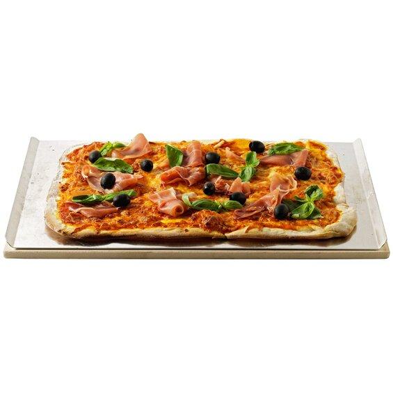 Weber Pizzastein rechteckig 44 cm x 30 cm