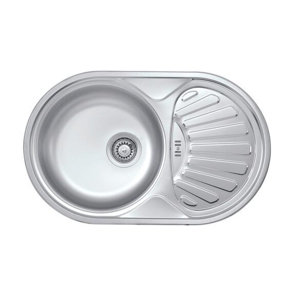 obi einbausp le rondo basic 77 edelstahl oval im obi online shop. Black Bedroom Furniture Sets. Home Design Ideas