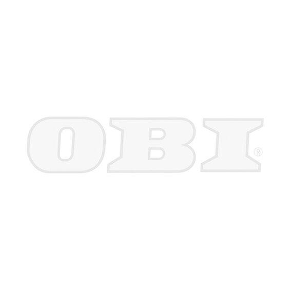 OBI Eckeinbauspüle Canto Duo 96 Granit Weiß