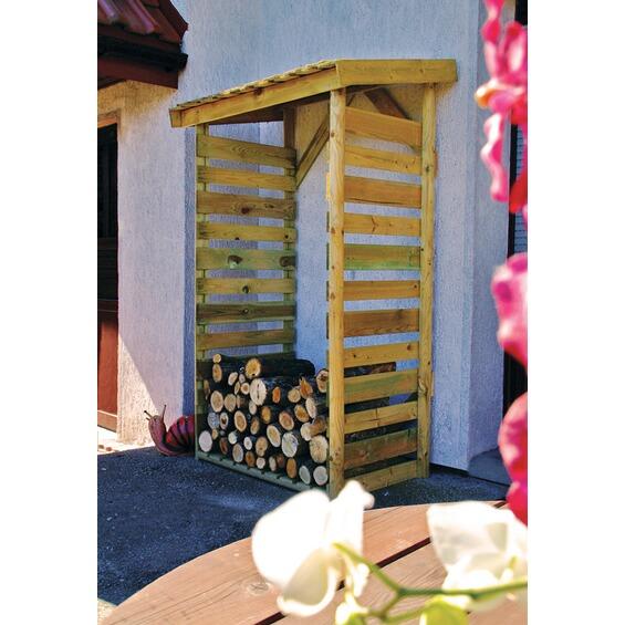 kaminholzregal klein im obi online shop. Black Bedroom Furniture Sets. Home Design Ideas