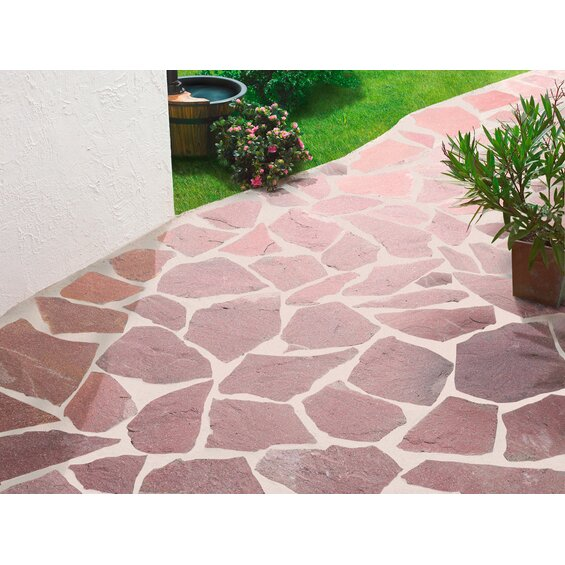 quarzit polygonalplatte rio rosario im obi online shop. Black Bedroom Furniture Sets. Home Design Ideas