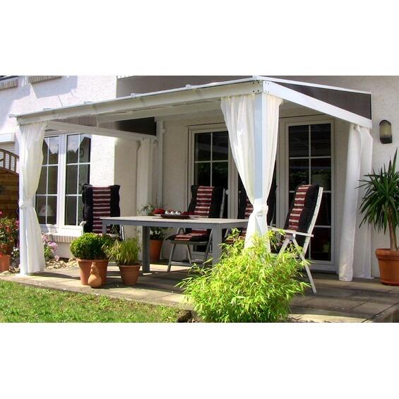 leco terrassen berdachung mit stegplatten 360 x 300 cm im obi online shop. Black Bedroom Furniture Sets. Home Design Ideas