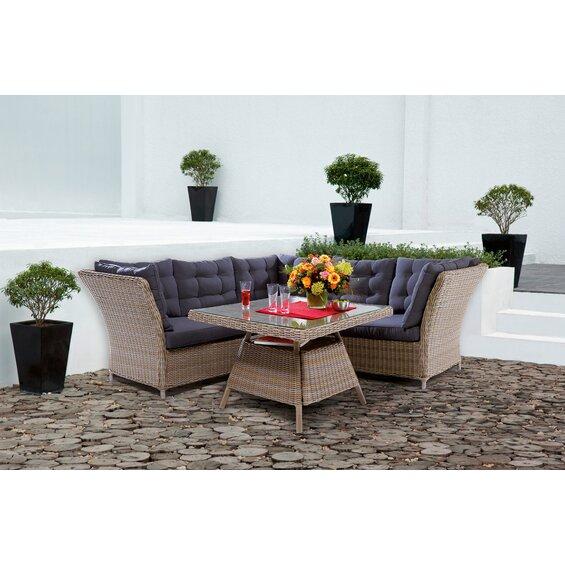 obi esstisch lounge gruppe madison 4 tlg baumarkt xxl. Black Bedroom Furniture Sets. Home Design Ideas
