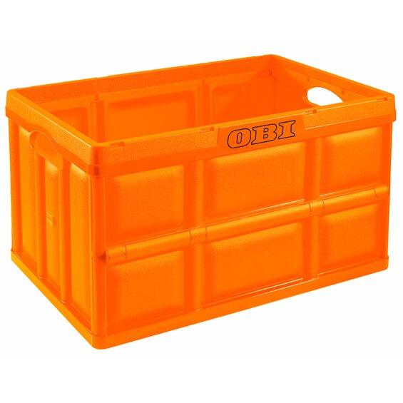 obi klappbox orange 62 l im obi online shop. Black Bedroom Furniture Sets. Home Design Ideas