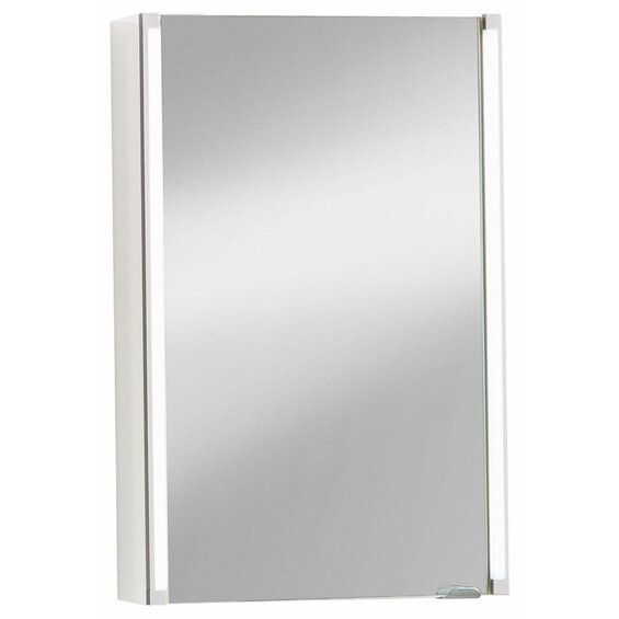 Fackelmann Spiegelschrank EEK: A 42,5 cm Weiß