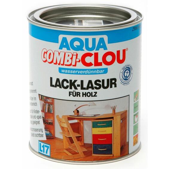 aqua combi clou lack lasur wei 750 ml im obi online shop. Black Bedroom Furniture Sets. Home Design Ideas