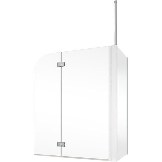 schulte badewannenfaltwand 2 teilig mit seitenwand 114 5. Black Bedroom Furniture Sets. Home Design Ideas