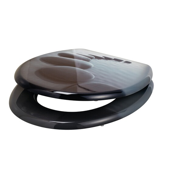 obi wc sitz comala motiv kieselsteine im obi online shop. Black Bedroom Furniture Sets. Home Design Ideas