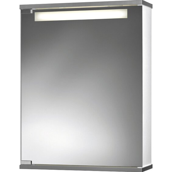 spiegelschrank cento breite 50 cm mit beleuchtung ean. Black Bedroom Furniture Sets. Home Design Ideas