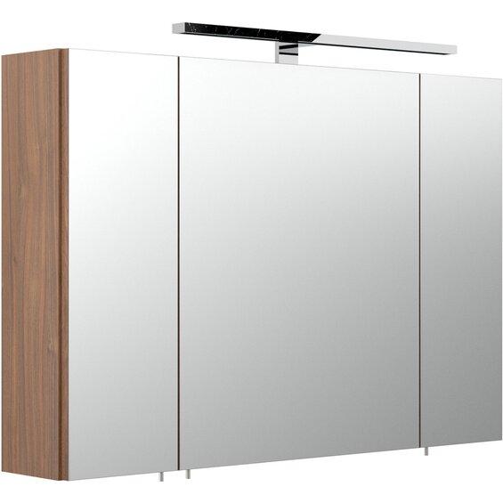 Posseik Spiegelschrank EEK: A Laonda 90 cm Walnuss