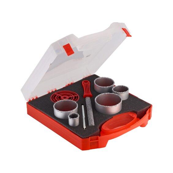 lux tools lochs gen set 8 teilig baumarkt xxl. Black Bedroom Furniture Sets. Home Design Ideas