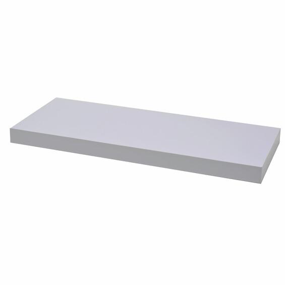 wandboard wei gl nzend 60 cm x 25 cm x 3 8 cm im obi online shop. Black Bedroom Furniture Sets. Home Design Ideas