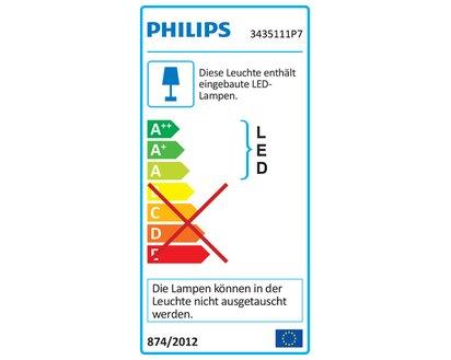Philips Hue Led Wandleuchte Adore Inkl Dimmschalter Chrom Eek A