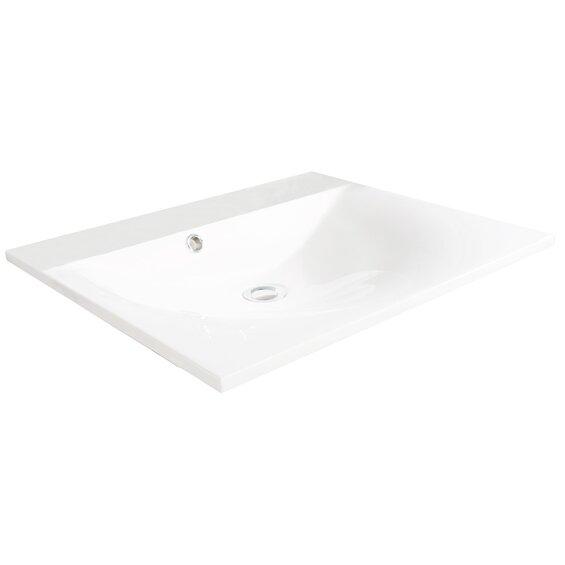 Fackelmann Gussbecken 60 cm Como Weiß