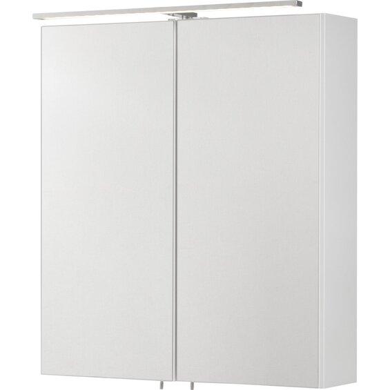 Fackelmann, EEK: A, Spiegelschrank Como 60 cm Weiß