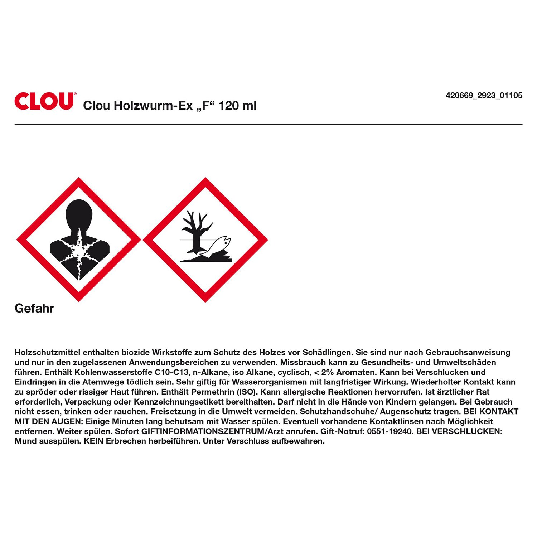 Clou Holzwurm Ex F 120 Ml Kaufen Bei Obi