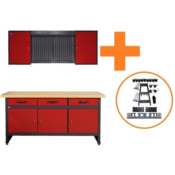 werkbank 170 cm preisvergleiche erfahrungsberichte und kauf bei nextag. Black Bedroom Furniture Sets. Home Design Ideas