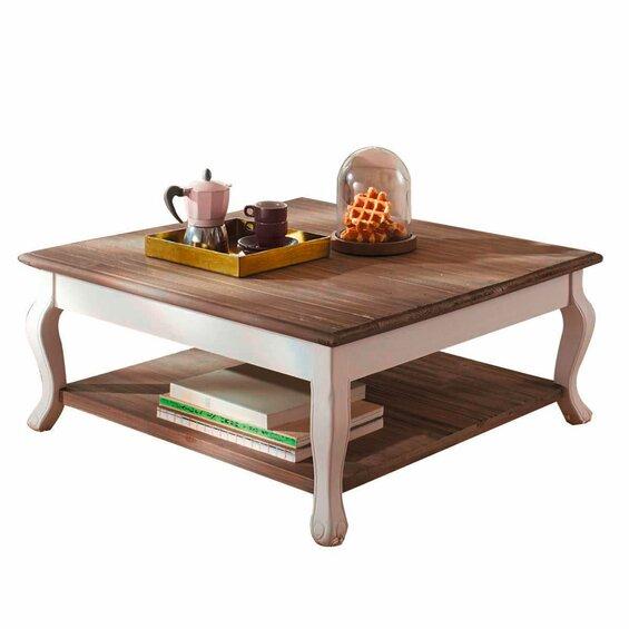 couchtisch landhaus wei natur im obi online shop. Black Bedroom Furniture Sets. Home Design Ideas