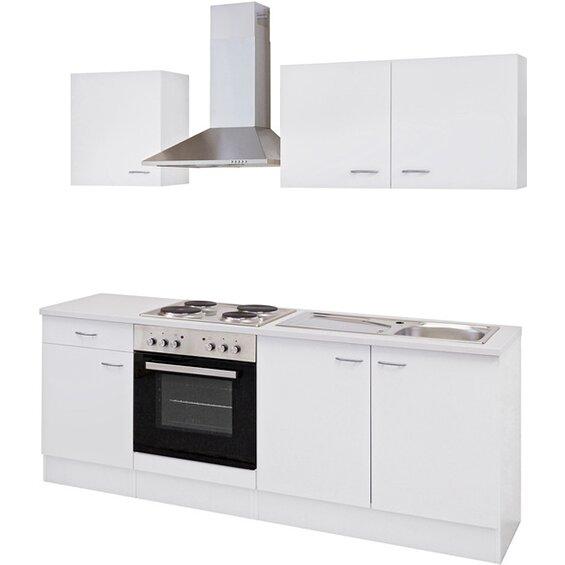 flex well classic k chenzeile wito 210 cm wei baumarkt xxl. Black Bedroom Furniture Sets. Home Design Ideas