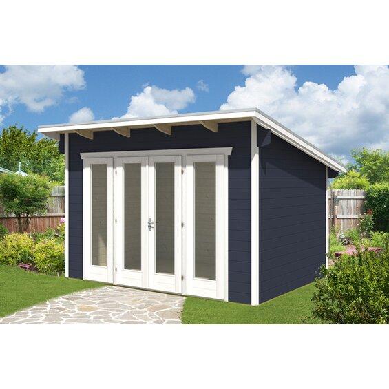 gartenhaus mit aufbau preisvergleiche. Black Bedroom Furniture Sets. Home Design Ideas