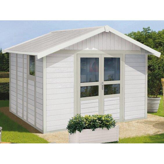 gartenhaus kunststoff grosfillex. Black Bedroom Furniture Sets. Home Design Ideas