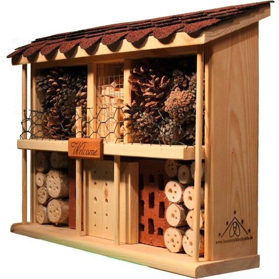dobar luxus insektenhotel bausatz wei er palast. Black Bedroom Furniture Sets. Home Design Ideas