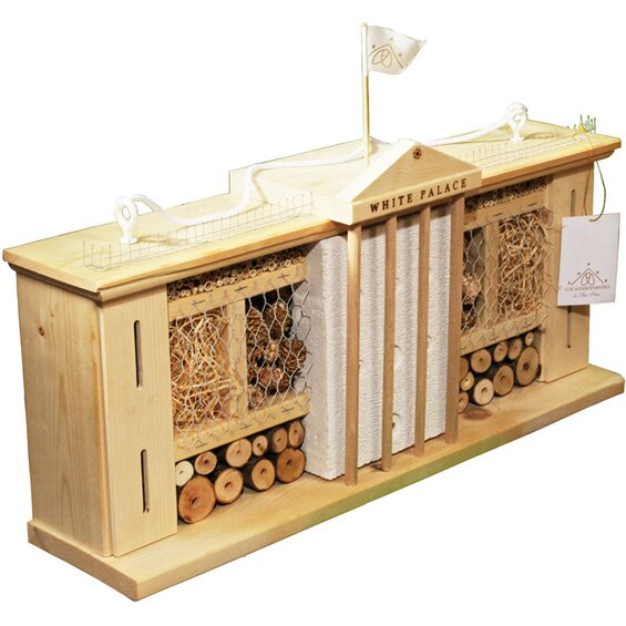 insektenhotel bausatz palast bienenhaus selber bauen. Black Bedroom Furniture Sets. Home Design Ideas