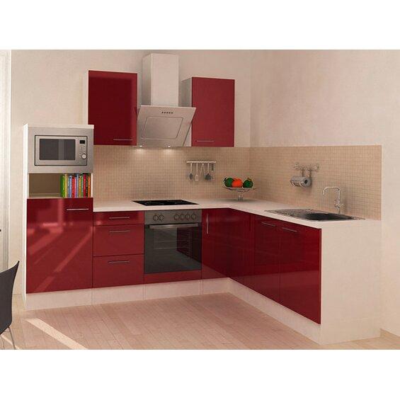 respekta premium winkelk che rp260wbocmis 260 cm bordeaux wei baumarkt xxl. Black Bedroom Furniture Sets. Home Design Ideas