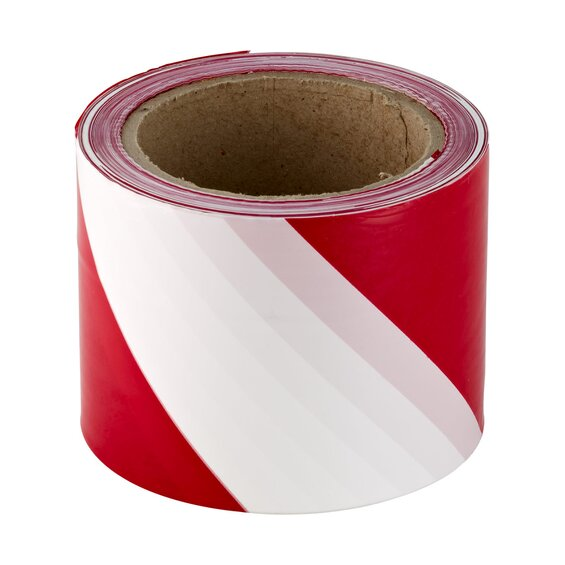LUX-Tools Warnband Rot – Weiß 500 m Classic