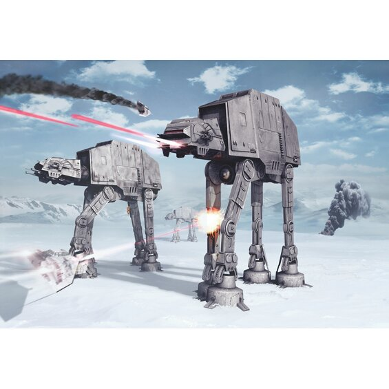 Komar Fototapete Disney Star Wars Battle of Hoth 8-teilig