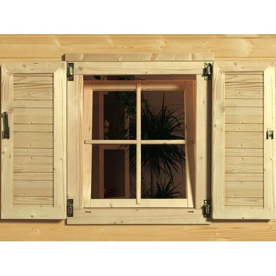 weka fensterladen 2 teilig im obi online shop. Black Bedroom Furniture Sets. Home Design Ideas