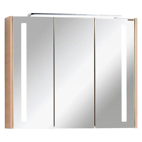 Fackelmann Spiegelschrank EEK: A-A++ Viora 79,5 cm Pinie