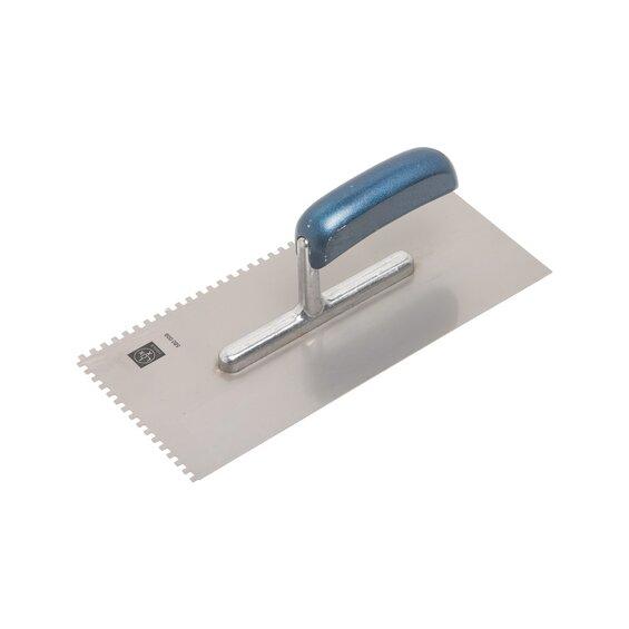 LUX-Tools Glättekelle rostfrei 4 mm x 4 mm Classic