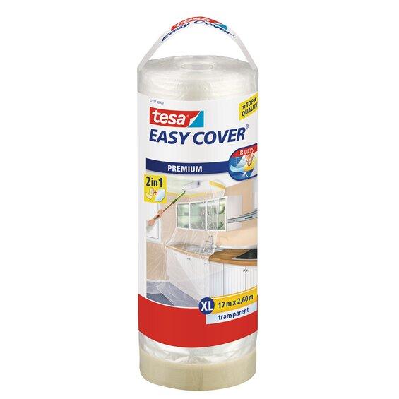 Tesa Easy Cover Premium Nachfüllrolle 17 m x 2,6 m