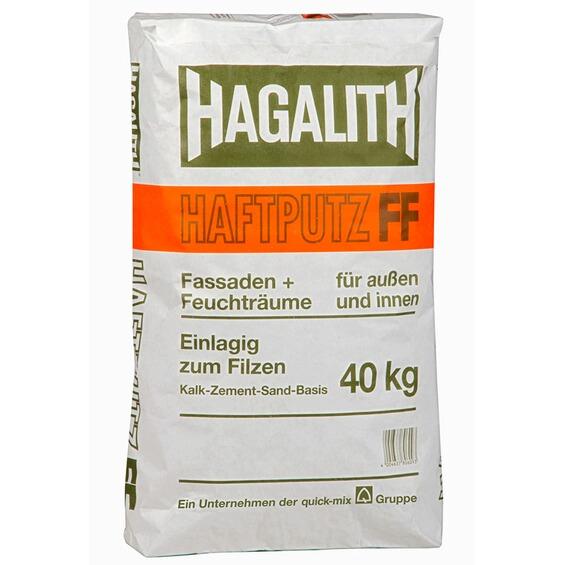 hagalith haftputz ff 40 kg im obi online shop. Black Bedroom Furniture Sets. Home Design Ideas