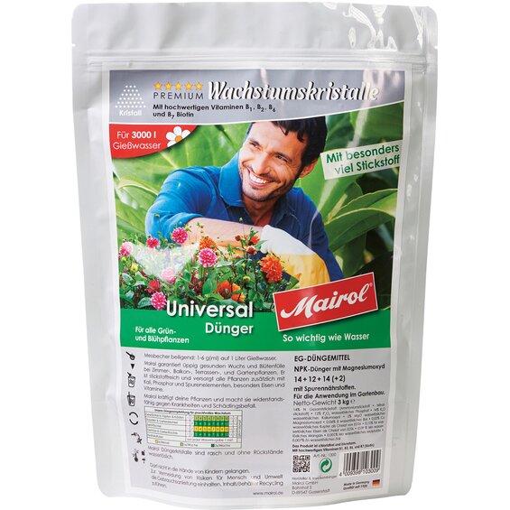 Mairol Universal-Dünger Kristall 3 kg