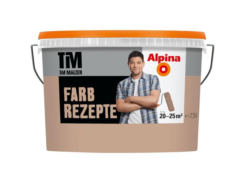 alpina farbrezepte sandelholz matt 2 5 l im obi online shop. Black Bedroom Furniture Sets. Home Design Ideas
