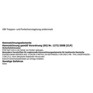 Obi Treppen | Obi Treppen Und Parkettversiegelung Transparent Seidenmatt 375 Ml