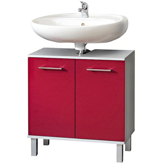 kesper waschbeckenunterschrank prato mit 2 t ren rot im obi online shop. Black Bedroom Furniture Sets. Home Design Ideas