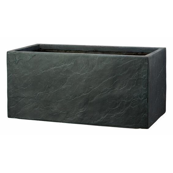 obi pflanzkasten callas 70 cm x 34 cm anthrazit im obi online shop. Black Bedroom Furniture Sets. Home Design Ideas