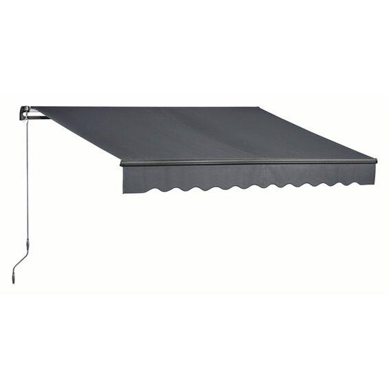 obi gelenkarmmarkise aventura 400 cm x 250 cm tuch. Black Bedroom Furniture Sets. Home Design Ideas