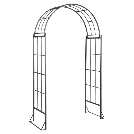 obi rosenbogen malone 230 cm x 144 cm x 55 cm anthrazit im obi online shop. Black Bedroom Furniture Sets. Home Design Ideas
