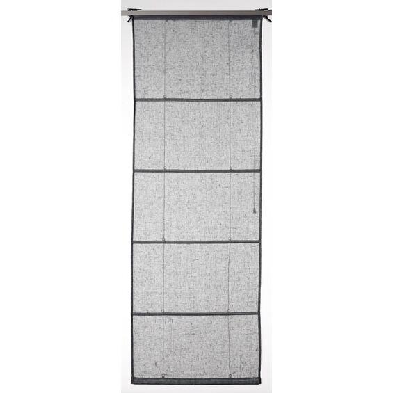 obi raffrollo leinen fabiona 120 cm x 170 cm grau im obi online shop. Black Bedroom Furniture Sets. Home Design Ideas