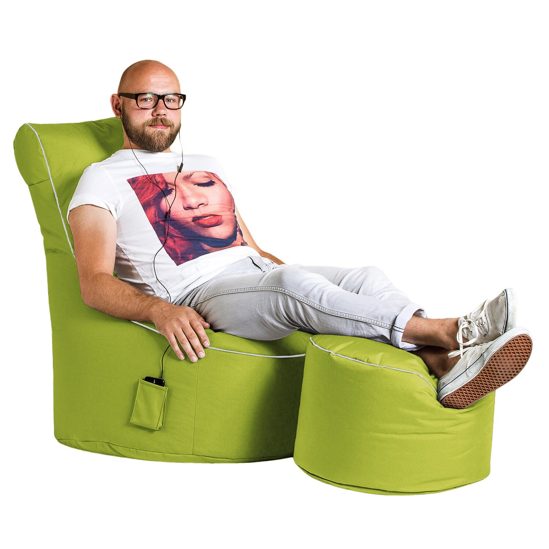 Sitting Point Sitzsack Swing Scuba 300 L Grün Kaufen Bei Obi