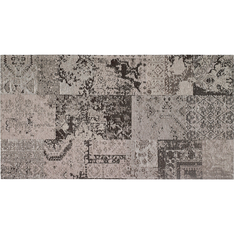 OBI  Teppich Molus Anthrazit 80 cm x 150 cm