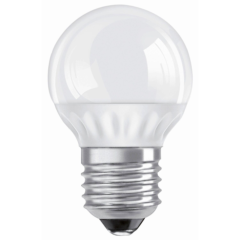 osram led lampe tropfenform e27 4 w 200 lm warmwei eek a kaufen bei obi. Black Bedroom Furniture Sets. Home Design Ideas