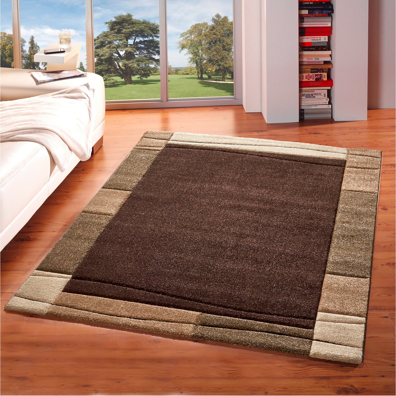 obi teppich zamora braun 140 cm x 200 cm kaufen bei obi. Black Bedroom Furniture Sets. Home Design Ideas