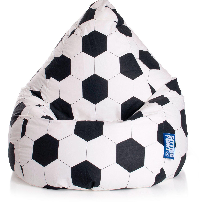 Sitting Point Sitzsack Beanbag XL 220 l Fussball